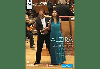 Francesco Facini, Junko Saito, Orchestra Haydn Di Bolzano E Trento - Tutto Verdi: Alzira  - (DVD)