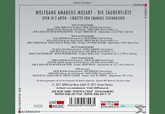 Och.Der Metropol.Opera, Orch.Del Teatro Colon - Die Zauberflöte-Mp 3 Oper  - (MP3-CD)