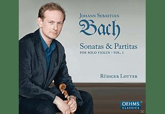 Rudiger Lotter - Sonatas & Partitas For Solo Violin Vol. 1  - (CD)