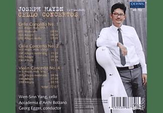 VARIOUS - Cellokonzerte 1,2 & 4  - (CD)