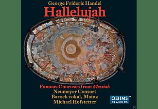 Barock Vokal, Neumeyer Consort - Hallelujah - Famous Choruses From Messiah  - (CD)