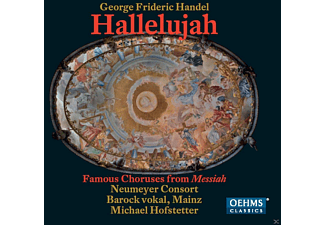 Barock Vokal, Neumeyer Consort - Hallelujah - Famous Choruses From Messiah - (CD)