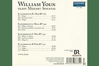 William Youn - Klaviersonaten KV 282,310,330,570 [CD]