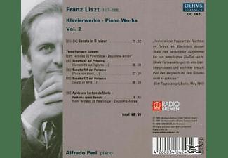 Perl, Alfredo Perl - Piano Works Vol.2  - (CD)