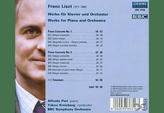 Kreizberg, Perl/Kreizberg/BBC SO - Klavierkonzerte 1 & 2/Totentanz  - (CD)