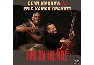 Eric Kamau Gravatt, Dean Magraw - FIRE ON THE NILE  - (CD)