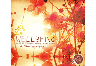 VARIOUS - Wellbeing-A Time To Relax  - (CD)