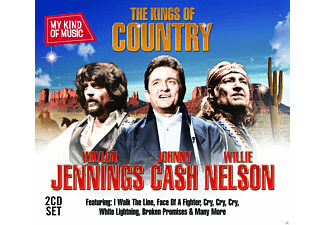 Johnny Cash, Waylon Jennings, Willie Nelson - Kings Of Country-My Kind Of Music  - (CD)