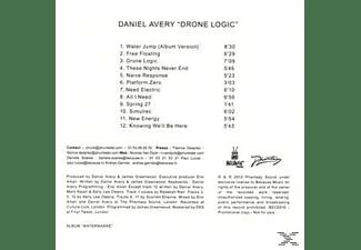 Daniel Avery - Drone Logic  - (CD)