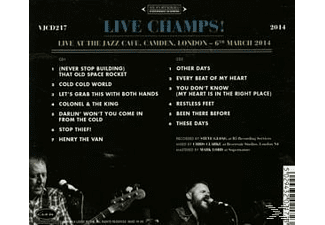 The Danny & Champions Of The World - Live Champs!  - (CD)
