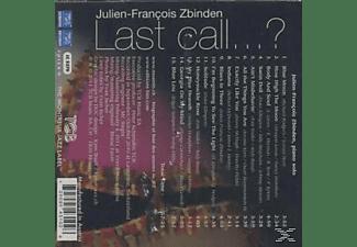 Julien-françois Zbinden - Last Call...?  - (CD)