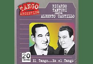 Ricardo Tanturi, Alberto Castillo - El Tango...Es El Tango  - (CD)