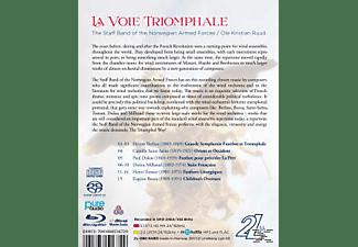 The  Staff Band Of The Norwegian Army, Darius Milhaud - La Voie Triomphale  - (Blu-ray Audio)