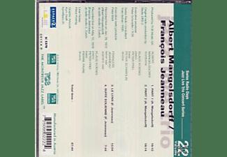 Mangelsdorff,Albert/Jeanneau,Francois/Jazz L - Jazz Live Trio With Guests  - (CD)