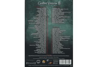 GOTHIC VISIONS 3 DVD + CD