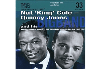 Quincy Jones And His Big Band, Nat King Cole - Swiss Radio Days Jazz Series Vol. 33 - (CD)