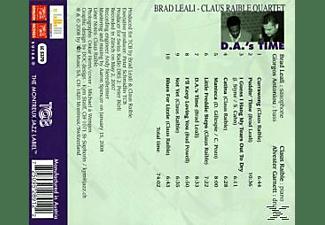 Brad Leali, Leali, Brad / Raible, Claus Quartet - D.A.'s Time  - (CD)