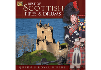 The Queen's Royal Pipers - Best Of Scottish Pipes & Drums  - (CD)