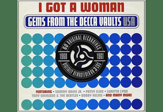 VARIOUS - I Got A Woman - Gems From The Decca Vaults 1960-61  - (CD)