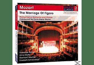 Elisabeth Schwarzkopf, Anna Moffo, Giuseppe Taddei, The Philharmonia Orchestra, Eberhard Waechter - The Marriage Of Figaro  - (CD)