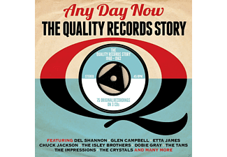 VARIOUS - Any Day Now Quality Rec.  - (CD)