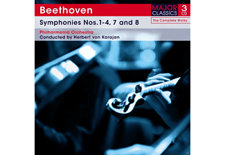 The Philharmonia Orchestra - Sinfonien 1-4 & 7-8  - (CD)