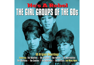 VARIOUS - He's A Rebel - The Girl Groups Of The 60s  - (CD)