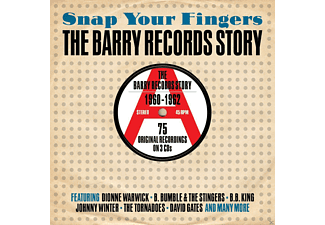VARIOUS - Snap Your Fingers-Barry Records Story 1960-1962  - (CD)