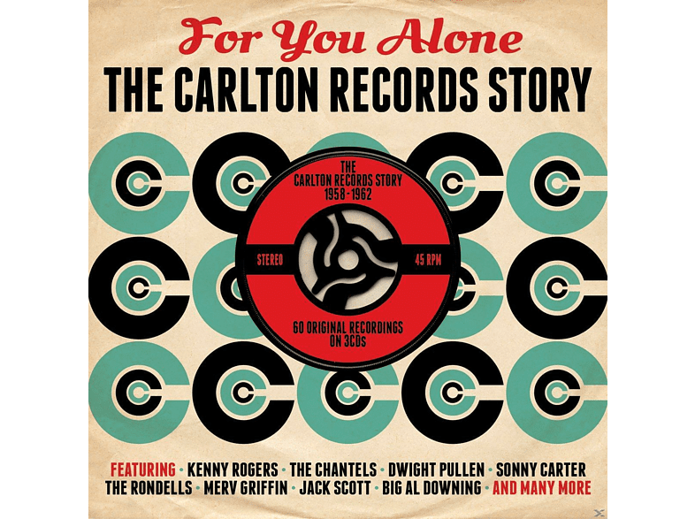 VARIOUS - For You Alone-Carlton [CD]