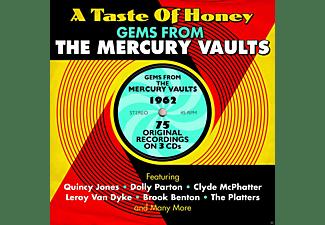 VARIOUS - Taste Of Honey / Gems From The Mercury Vaults 1962 (3 Cd Box)  - (CD)