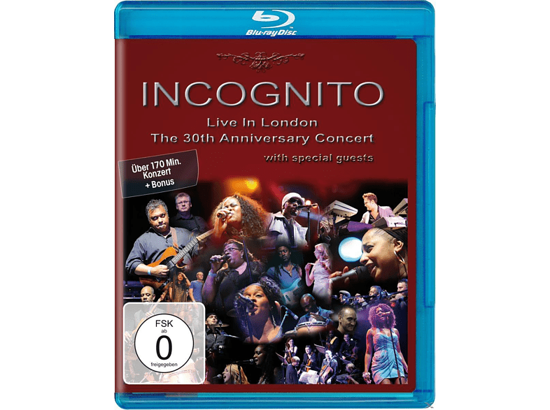 Incognito - Live In London - The 30th Anniversary Concert [Blu-ray]