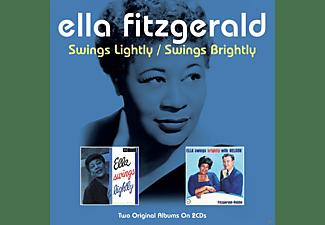 Ella Fitzgerald - Swings Lightly / Swings Bright  - (CD)
