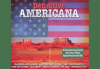 VARIOUS - Definitive Americana  - (CD)