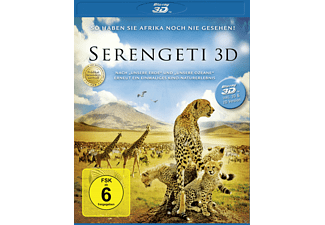 Serengeti 3D-Edition - (3D Blu-ray)