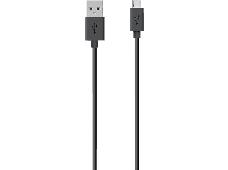 BELKIN MIXIT USB 2.0, Kabel, 2 m, Schwarz