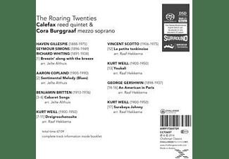 Calefax Reed Quintet & Cora Burggraaf - Roaring Twenties  - (CD)