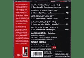 Maximilian Schell, European Community Youth Orchestra, Gustav Mahler Jugendorchester - Claudio Abbado In Memoriam  - (CD)