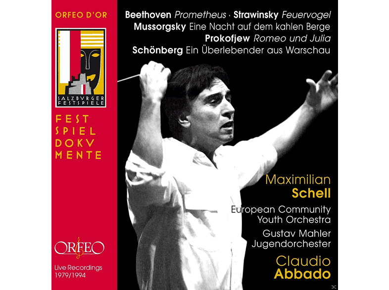 Maximilian Schell, European Community Youth Orchestra, Gustav Mahler Jugendorchester - Claudio Abbado In Memoriam [CD]