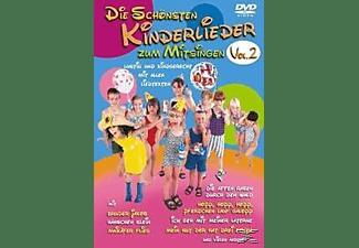 Die schönsten Kinderlieder zum Mitsingen - Vol. 2 DVD