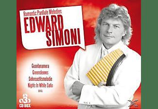 Simoni Edward - Romantic Panflute Melodies  - (CD)