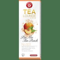 TEEKANNE Pai Mu Tan Peach No. 501 Teekapseln (Teekanne Tealounge System)