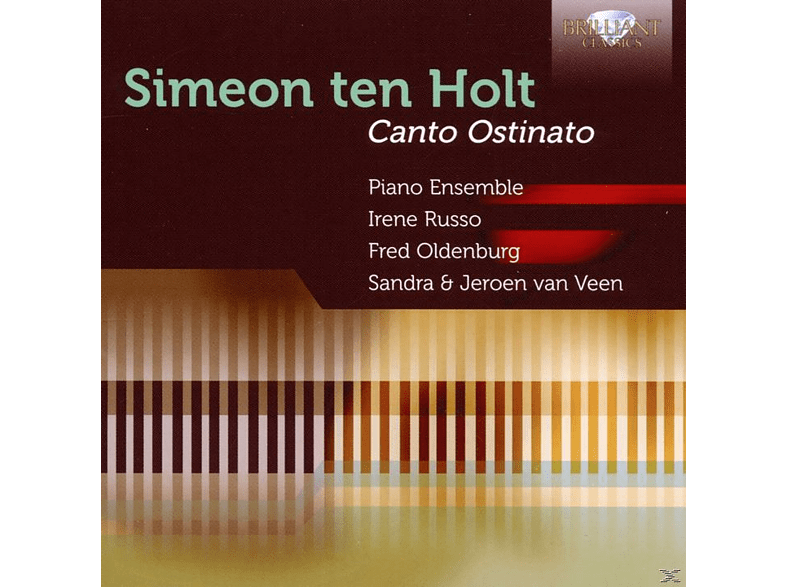 Jeroen Van Piano Ensemble Veen - Simeon Ten Holt: Canto Ostinato [CD]