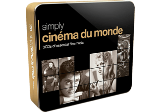 VARIOUS - Simply Cinema Du Monde (3CD Tin)  - (CD)