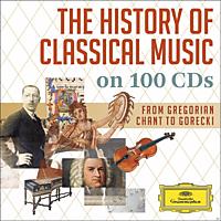 VARIOUS - Die Geschichte Der Klassischen Musik Auf 100 Cds [CD]