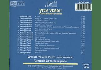 Fierro,Graziela Valceva/Naydenova,Veneziela - Viva Verdi!  - (CD)