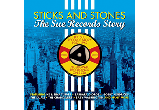 VARIOUS - Sticks & Stones The Sue Records Story - (CD)