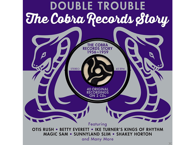 VARIOUS - Double Trouble-Cobra Records Story 1956-1959 [CD]