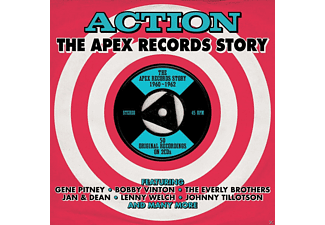 VARIOUS - Action-Apex Records Story  - (CD)