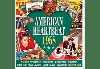 VARIOUS - American Heartbeat 1958  - (CD)