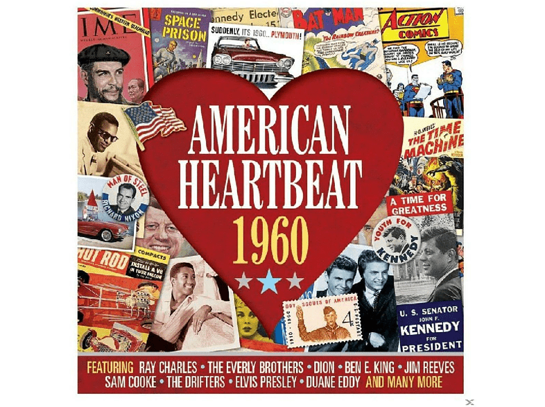 VARIOUS - American Heartneat 1960 [CD]
